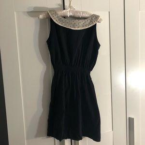 ModCloth black dress with collar